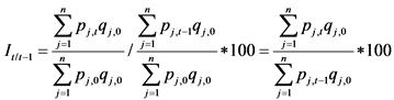 Официальной статистической методологии по наблюдению за ценами на приобретенные строительные материалы